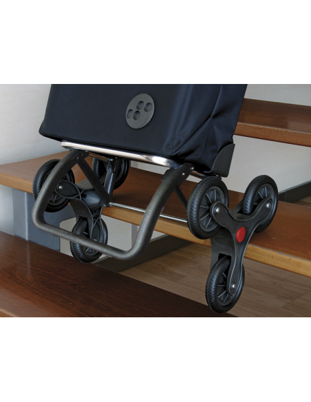 Rolser Chariot I-Max Nitt 6 Roues Sube Escaliers Argent